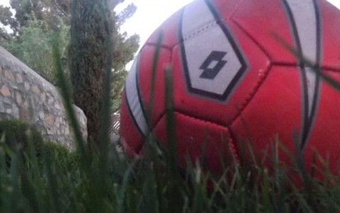 Soccer ball (photo by Claudia Gonzalez)