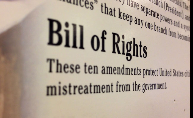 Bill of Rights (photo by Noelle Munoz)