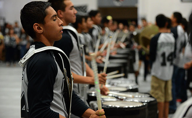Percussion places third Socorro Percussion Competition (Photo by:Rick Cortez).