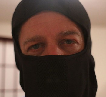 Not a real member of a terrorist group. Photo by: Chris Kolenc