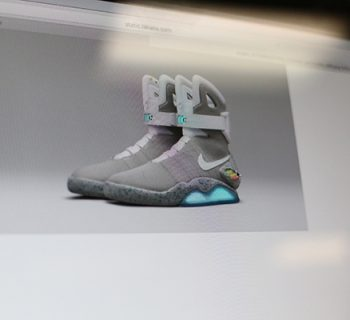 New back to the future shoes; photo by Daniella Salcido